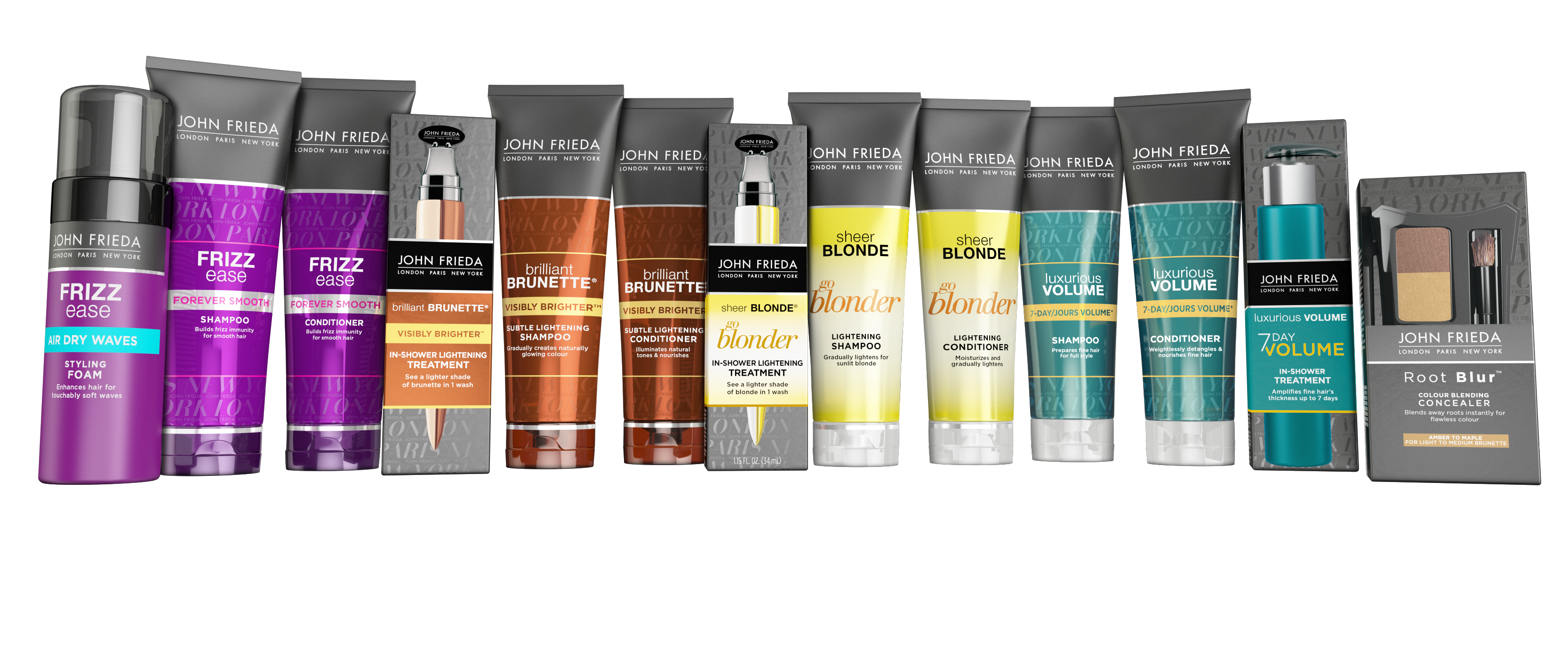 John frieda new products
