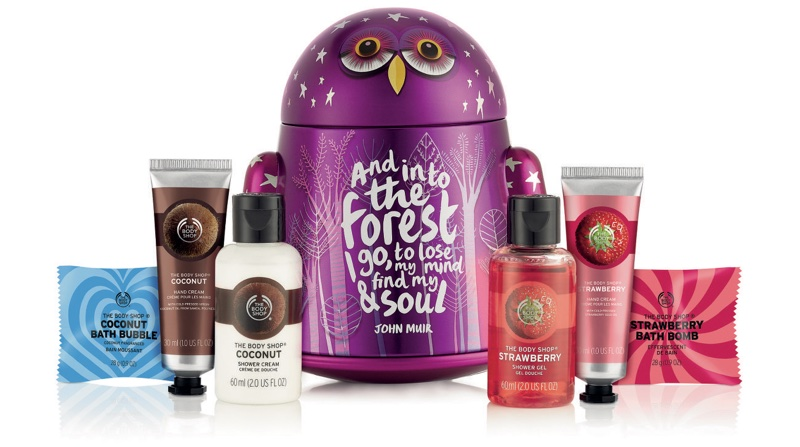 Christmas Gift Sets Body Shop.The Body Shop Embraces Nature For New Christmas Collections