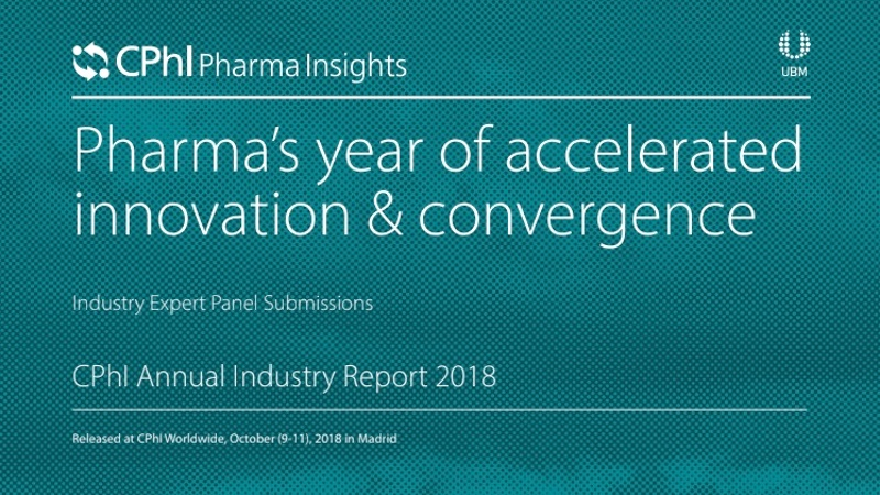 CPhI releases findings of 2017 India Pharma Market Report