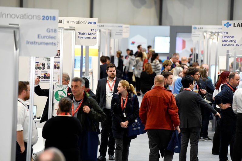 Lab Innovations 2018 confirmed as a major hit with visitors