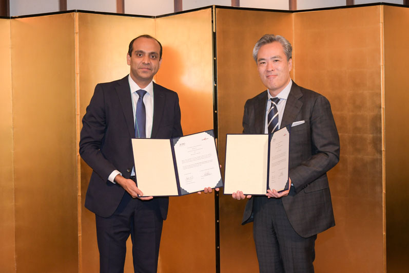 Sabinsa signs MOU with JETRO at summit with Prime Ministers