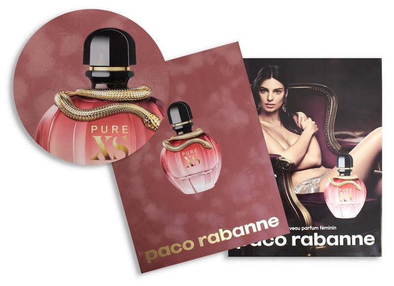 Xs Chooses Beauty Arcade Fragrance Pure Sample Paco Rabanne For NZ8n0OwPkX