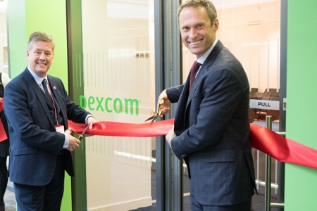 picture of The official opening of Dexcom