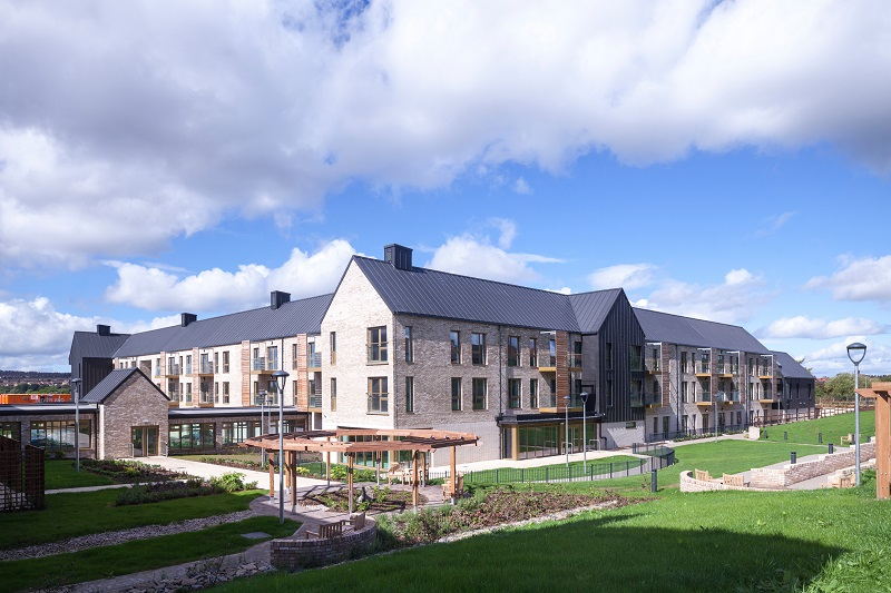 picture of The COVID-19 pandemic has highlighted problems with the design of traditional care homes and has led to calls from a number of operators and architects for a rethink and the introduction of new minimum standards. Image shows Kajima Partnership