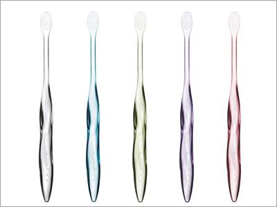 toothpaste free toothbrush wins wallpaper design award