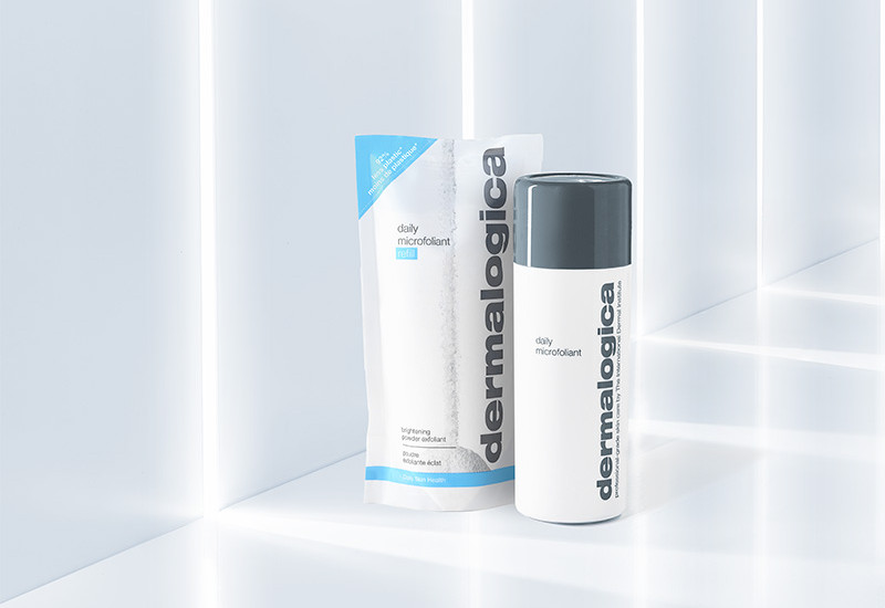 Dermalogica debuts refill for Daily Microfoliant product