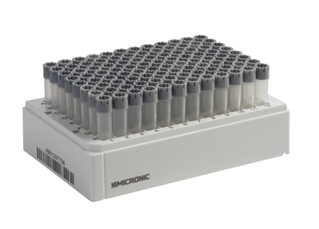 Micronic markets storage tubes with external thread ensure sample ...