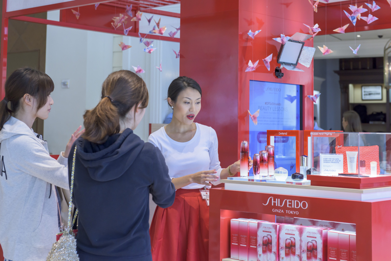 Shiseido calls on Bloommiami for digital origami retail feature