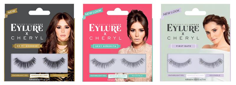 a15c702a587 Eylure rebrands Cheryl false eyelash range