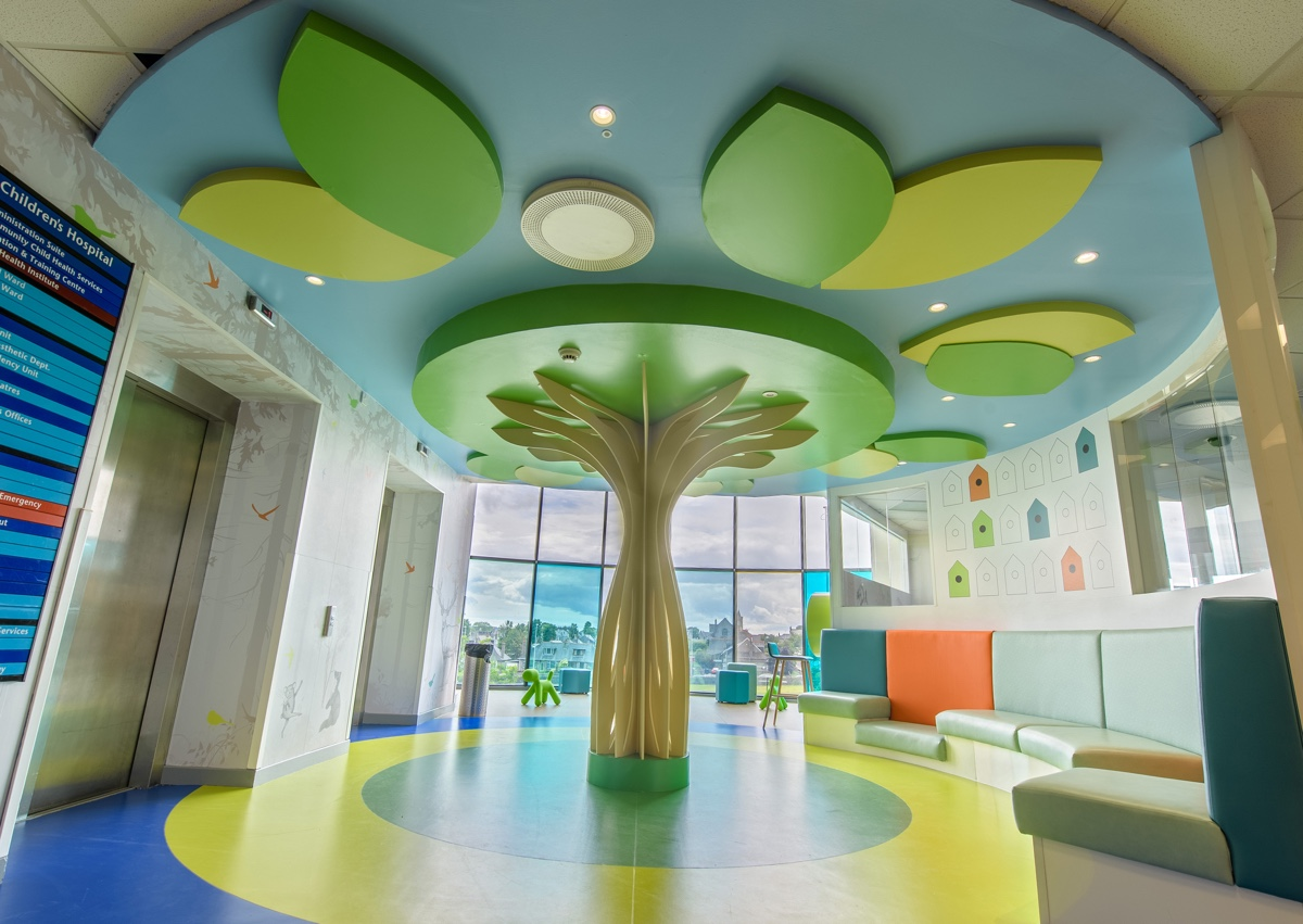 Colour Psychology Forbo Helps Revive Children S Hospital