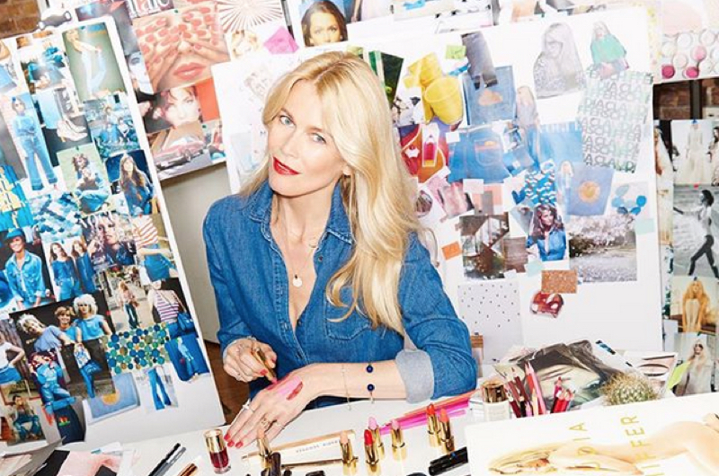 Claudia Schiffer Launches Make Up Collection With Artdeco