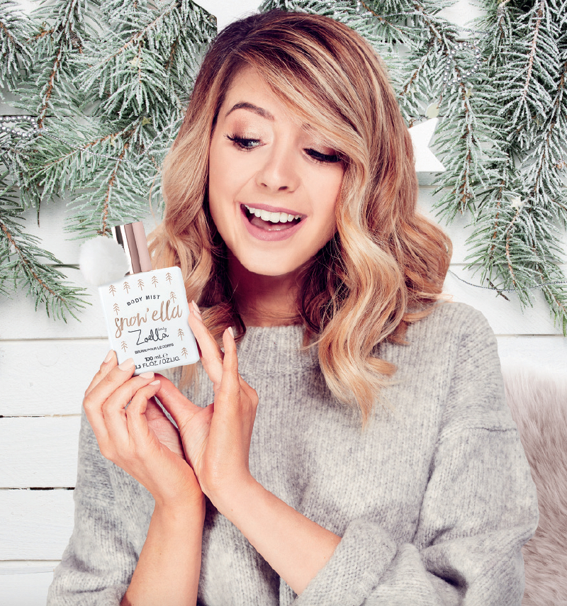 Zoella unveils her new Christmas collection