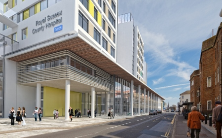 picture of The new Royal Sussex County Hospital