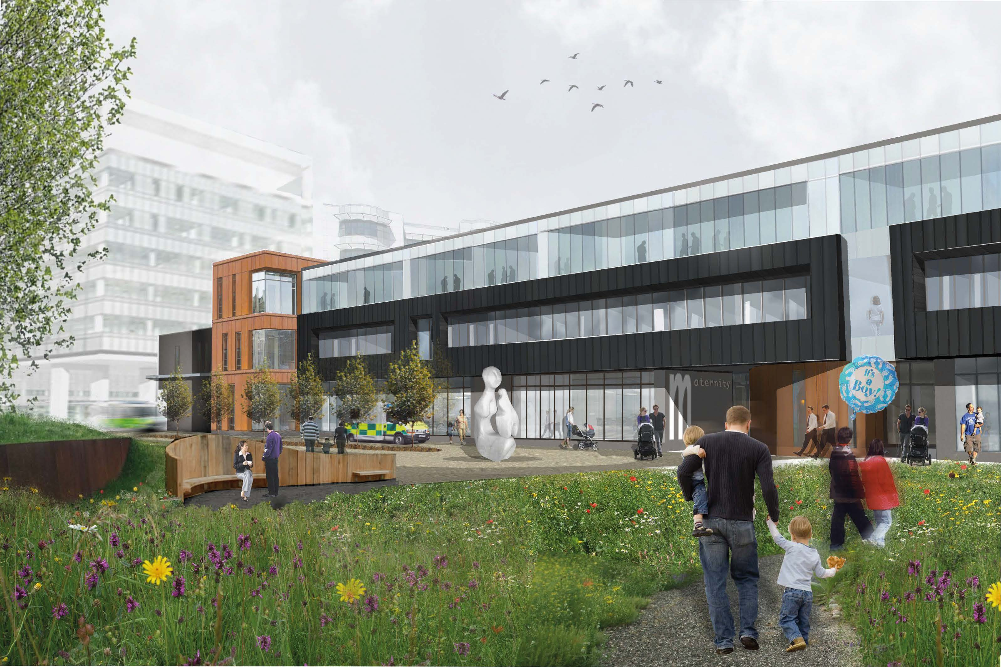 GRAHAM-Bam chosen for new £57m Belfast Maternity Unit project