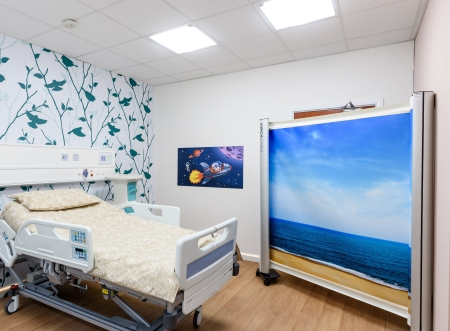 picture of The Concept Ward enables innovative new technologies to be tested in a live-style hospital environment