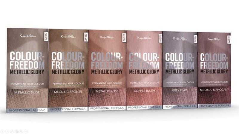 Knight and Wilson unveils new metallic hair dye shades bc8145e83e1c