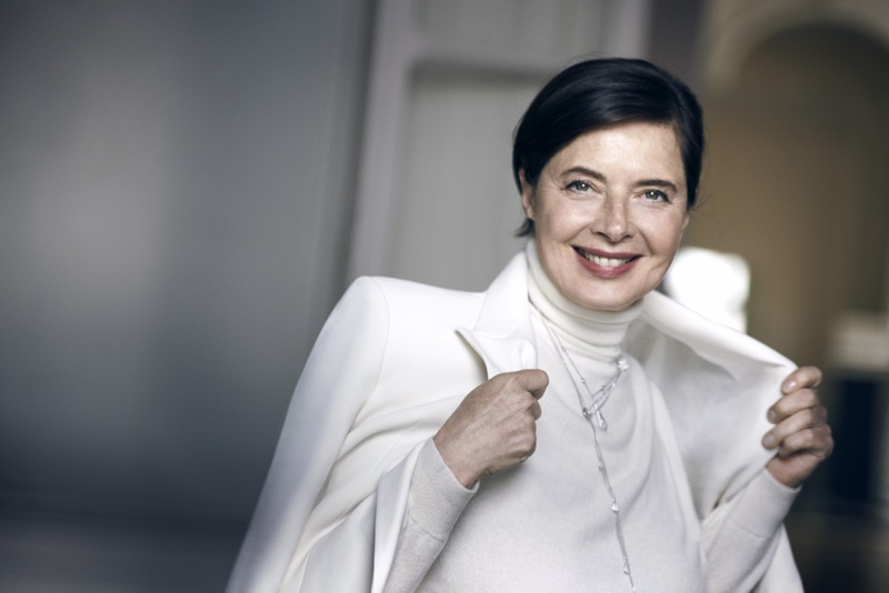 Isabella Rossellini returns to Lancôme after 21 year absence