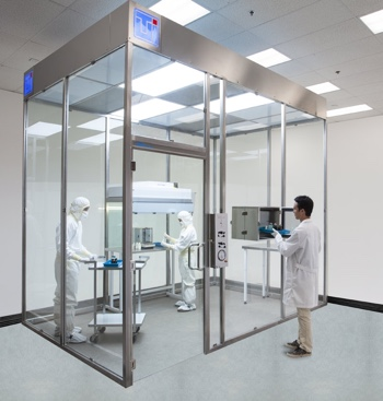 Tempered glass modular cleanroom introduced by Terra