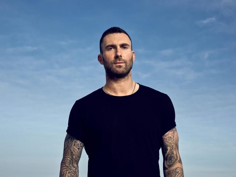 40b34838963 He will be loved: Maroon 5's Adam Levine named as YSL ambassador