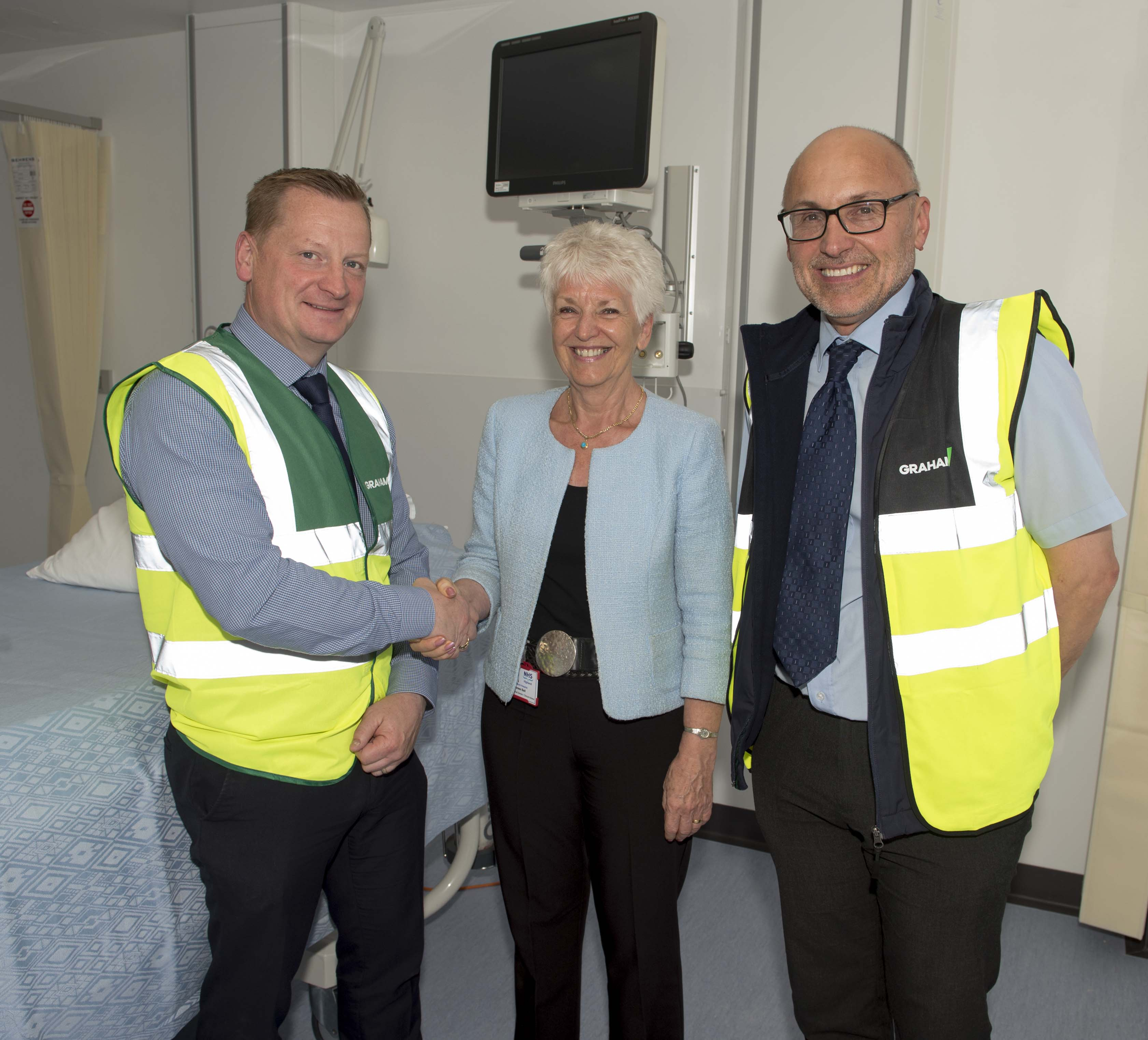 GRAHAM Construction hands over phase one of Raigmore