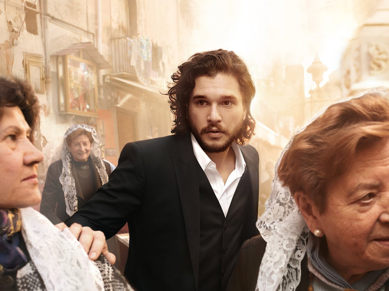 7a639e86cdba Game of Thrones stars Kit Harington and Emilia Clarke have reprised their  roles as the faces of Dolce   Gabbana Beauty for new fragrances The Only One  and ...