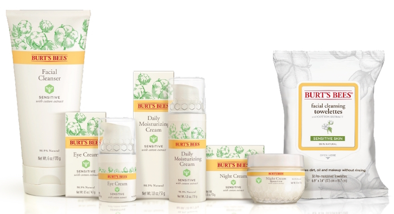 Burts Bees Sensitive Skin Product Range Backed By Journal Of Drugs In Dermatology