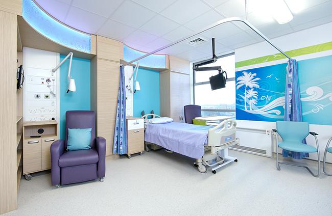 grosvenor interiors teenage cancer trust unit leicester