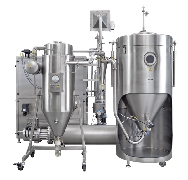 Spray drying: taking the heat out of processing sensitive products