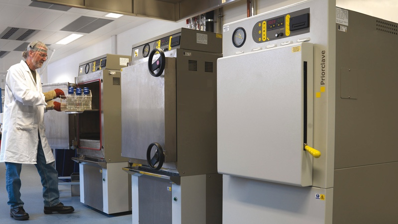 Autoclave costs running away