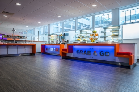Expona Flow Helps To Refresh University Hospital Wales Restaurant