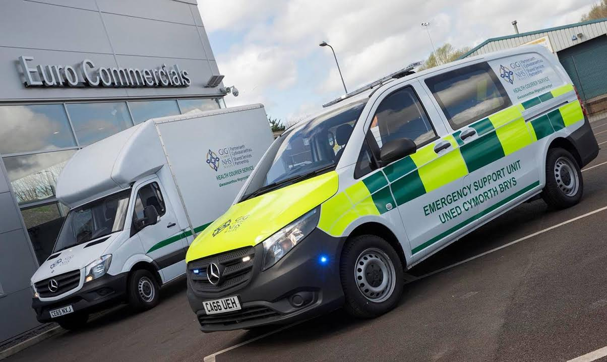 8938c31397d5 Mercedes-Benz vans keep the wheels of the NHS turning in Wales