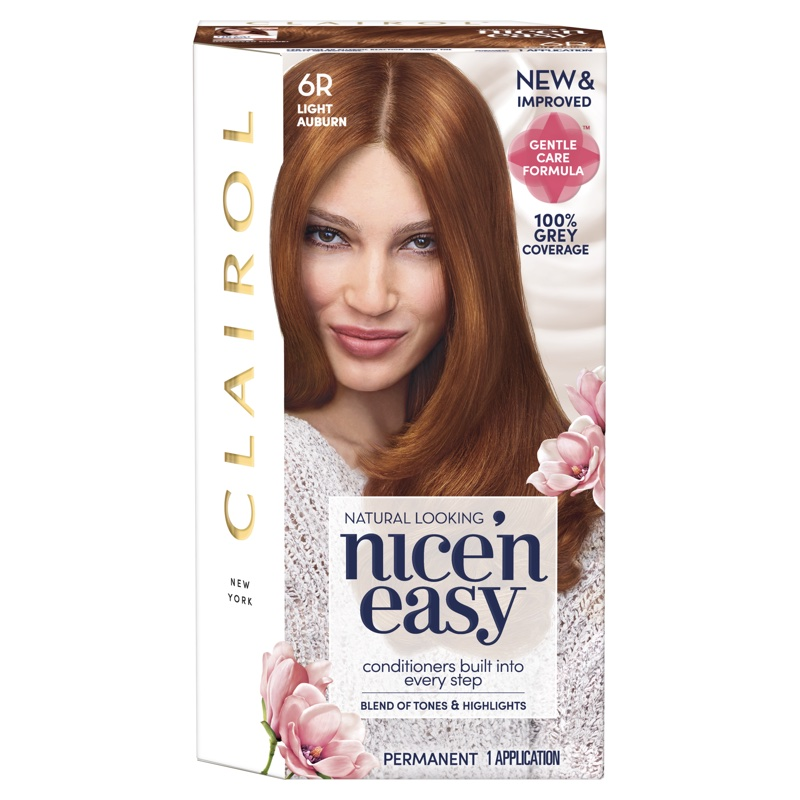 Clairol Gives Iconic Nice N Easy Easy Dye A Gentle Touch
