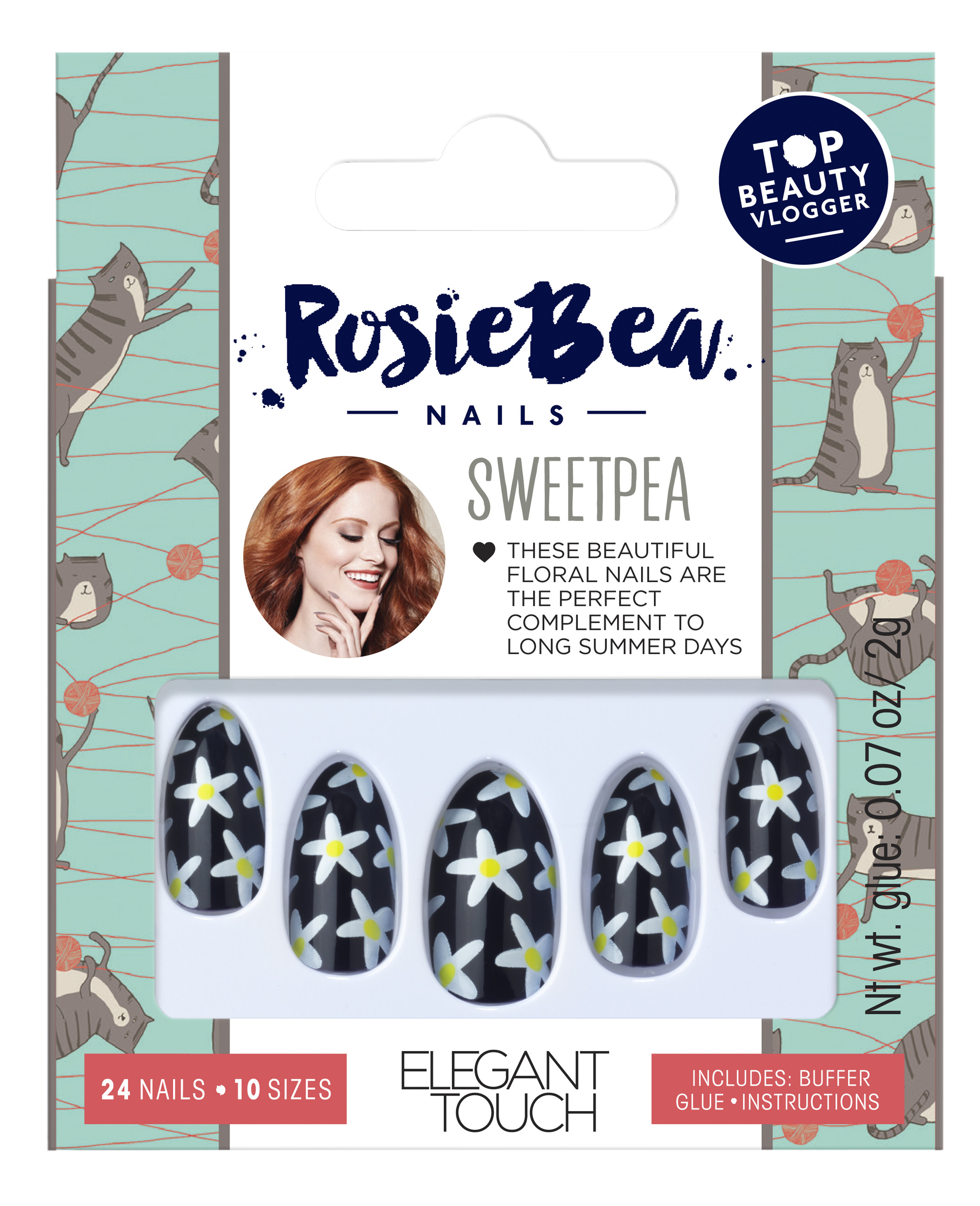 0d27eb577e8 Elegant Touch and Eylure team up with Rosie Bea for false lashes and nails  range