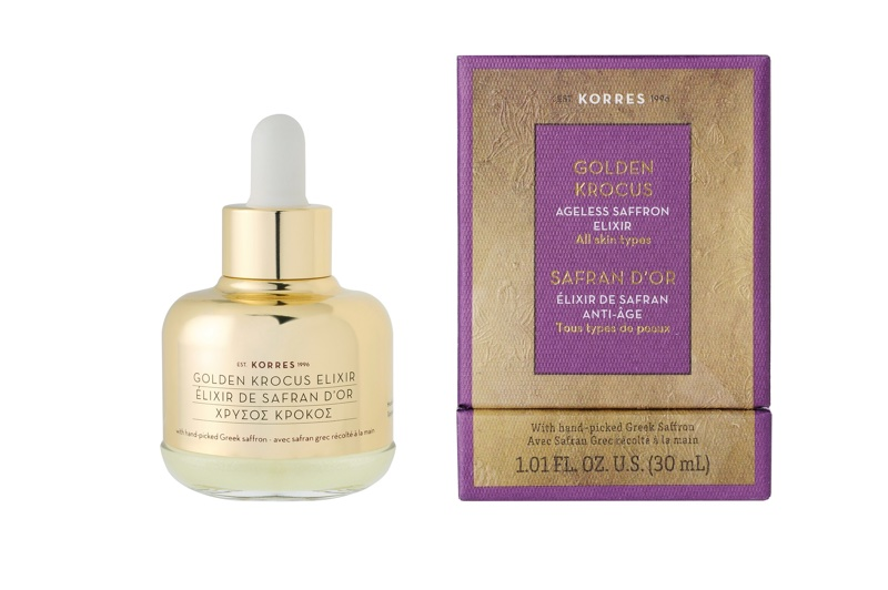 Korres Partners With Saffron Producers To Create New Elixir