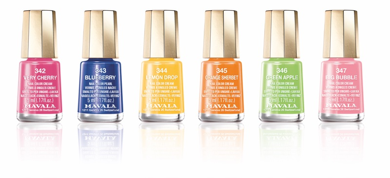 Mavala follows Paint Box Brights trend with new nail polish launches