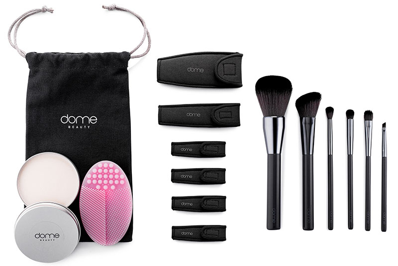 dome BEAUTY's newest brush kit