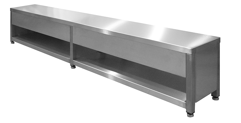 - F 108638 - Teknomek combines seating with storage to optimise changing room space