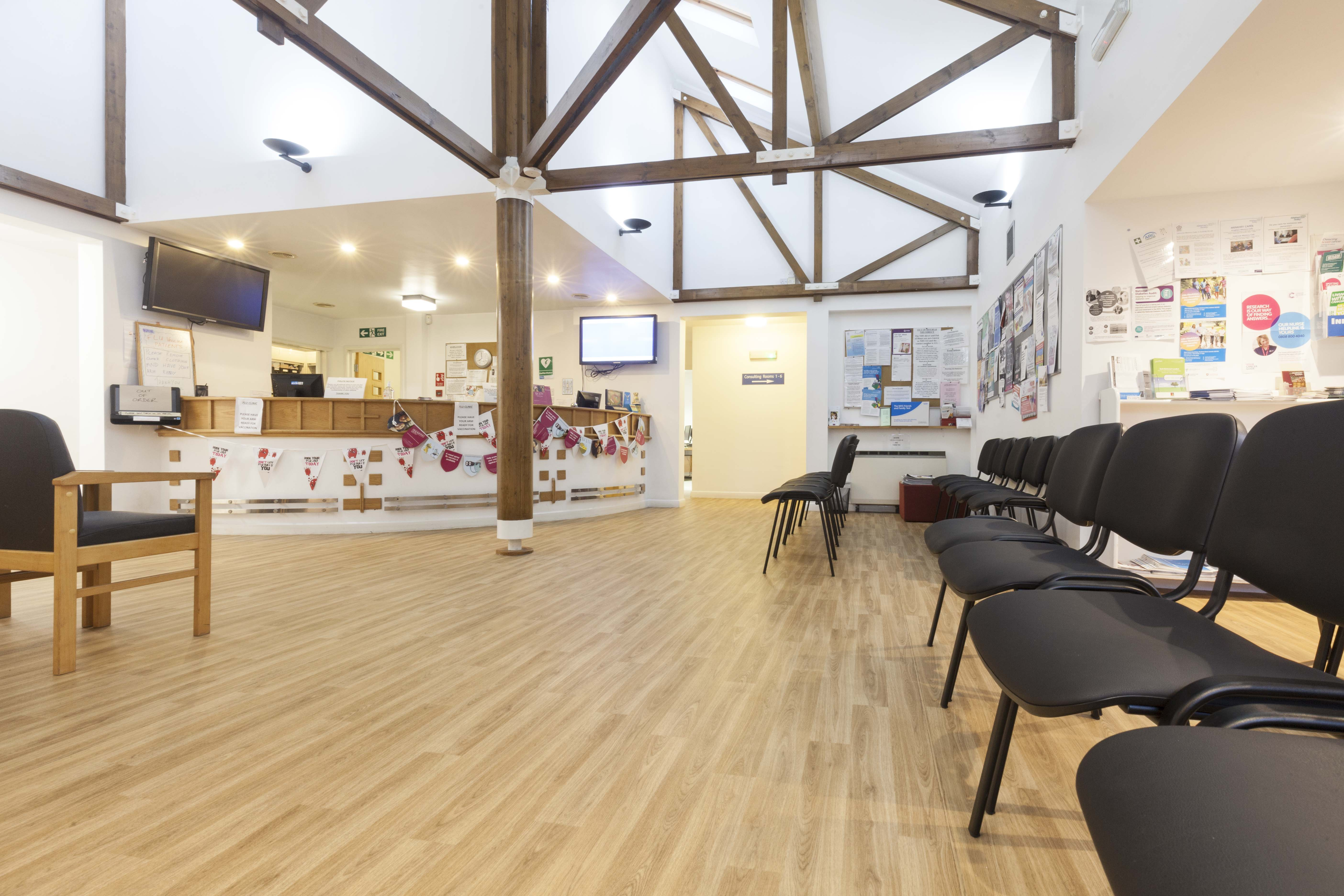 Polyflor Safety Flooring Helps Improve Acoustics In Gp Surgery
